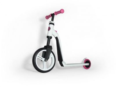 Самокат-беговел Scoot&Ride 2 in 1 Highwayfreak White Pink