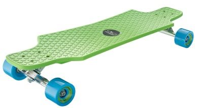 Лонгборд Hudora Longboard Fun Cruiser green