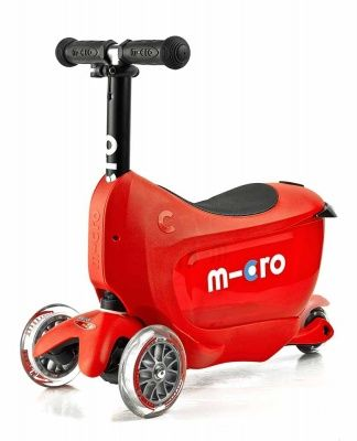 Самокат Micro Mini2go Deluxe Plus red