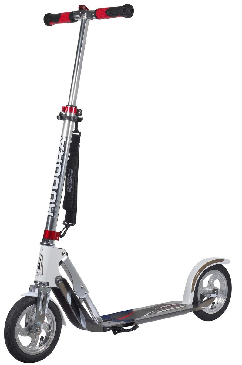 Самокат HUDORA Big Wheel AIR 205 White(14005)
