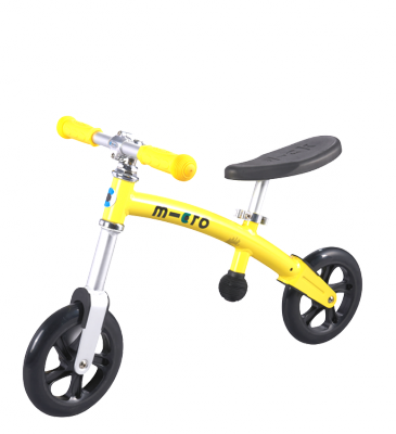 Беговел Micro G-bike+Light Yellow