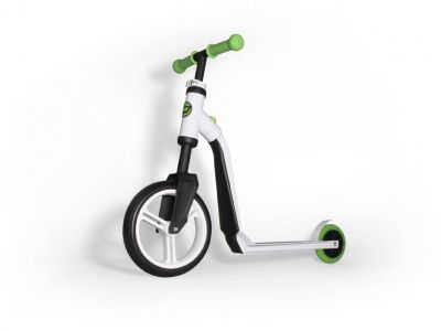Самокат-беговел Scoot&Ride 2 in 1 Highwayfreak White Green