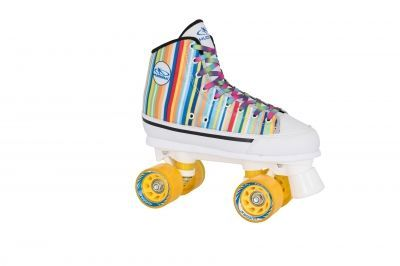 Роликовые коньки Hudora Roller Skates Denim candy stripes, 39 (13053)