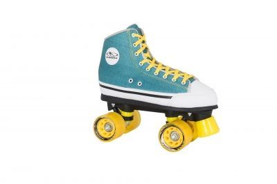 Роликовые коньки Hudora Roller Skates Denim green, 37 (13031)