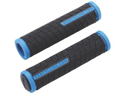 Грипсы BBB 2015 grips DualGrip 125mm black/blue