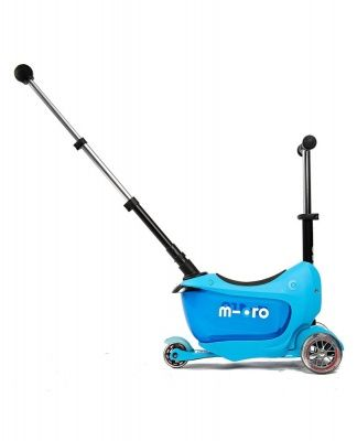 Самокат Micro  Mini2go Deluxe Plus blue