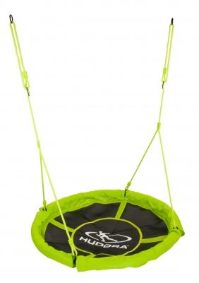 Качели Hudora Nest swing Alu 110, зеленые