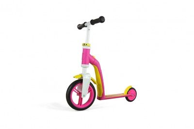 Самокат Scoot&Ride 2 in 1 Highwaybaby Pink Yellow