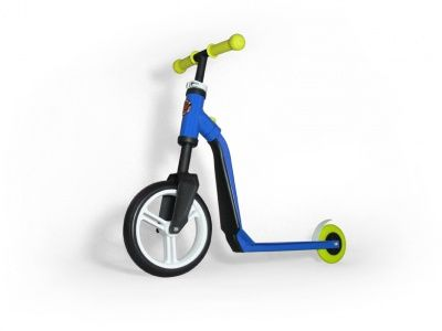 Самокат-беговел Scoot&Ride 2 in 1 Highwayfreak Blue Yellow