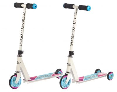 Самокат Hudora Kinderroller girl white