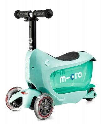 Самокат Micro Mini2go Deluxe Plus mint