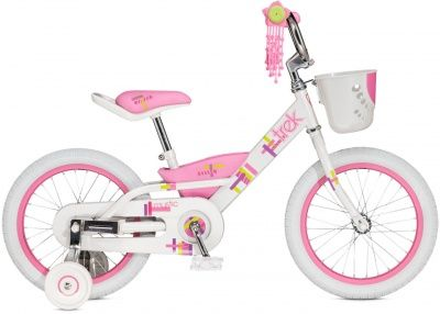"Велосипед Trek Mystic 16""  Crystal White/Pink Frosting"