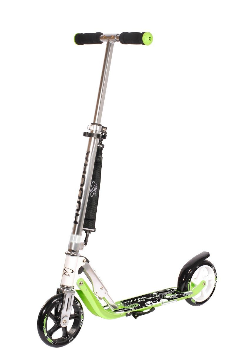 Самокат HUDORA Big Wheel 180 green(14745)