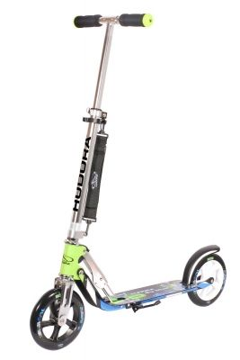 Самокат HUDORA Big Wheel 205 green/blue(14750)