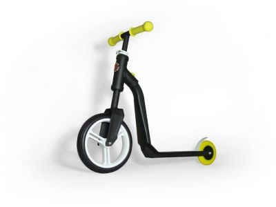 Самокат-беговел Scoot&Ride 2 in 1 Highwayfreak black Yellow