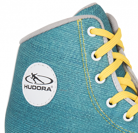 Роликовые коньки Hudora Roller Skates Denim green, 36 (13030)