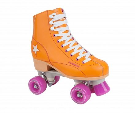 Роликовые коньки Hudora Rollschuh Roller Disco orange, 41(13206)
