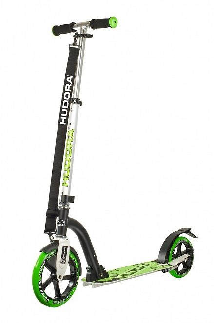 Самокат HUDORA Big Wheel Bold 230 green(14230)