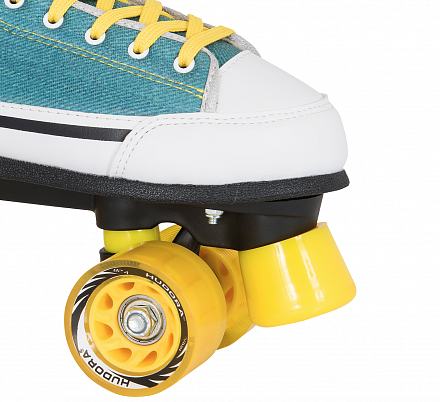 Роликовые коньки Hudora Roller Skates Denim green, 39 (13033)